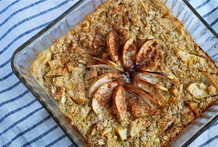 Apple Cinnamon Baked Oatmeal: An Easy Oatmeal Recipe
