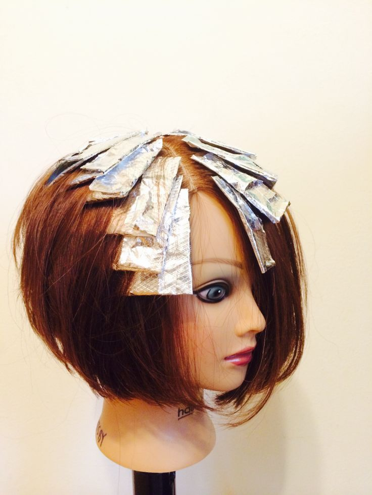 Foil Techniques On Pinterest Foil Highlights Peekaboo Of ...