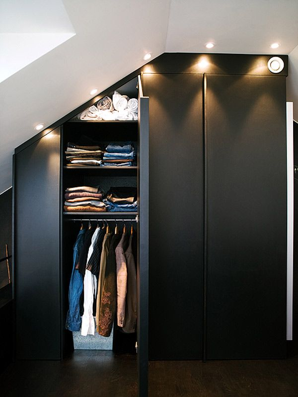 Got to love a closet under the stairs Interiors Closets