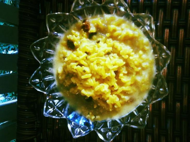 Brown Rice Kheer Recipe - Coconut Cardamom Basmati Indian Rice Pudding ...