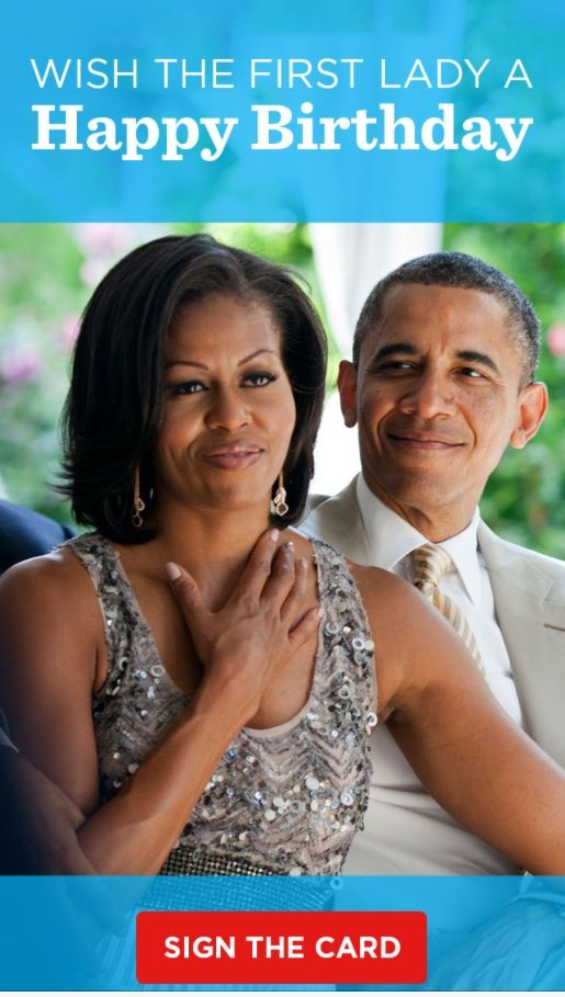 Happy birthday to flotus michelle obama beautiful people pintere