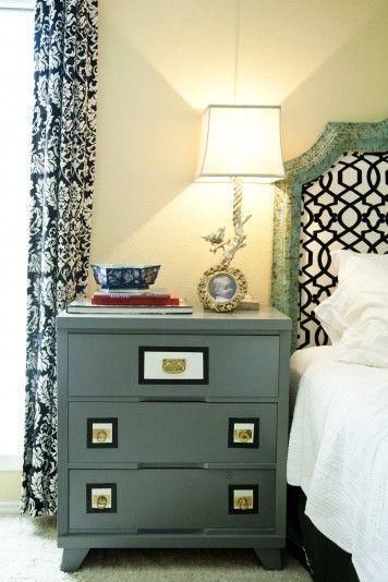 Blue black and white black white amp mint client bedroom pinterest