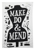 Word Up Tea Towel in Mend
