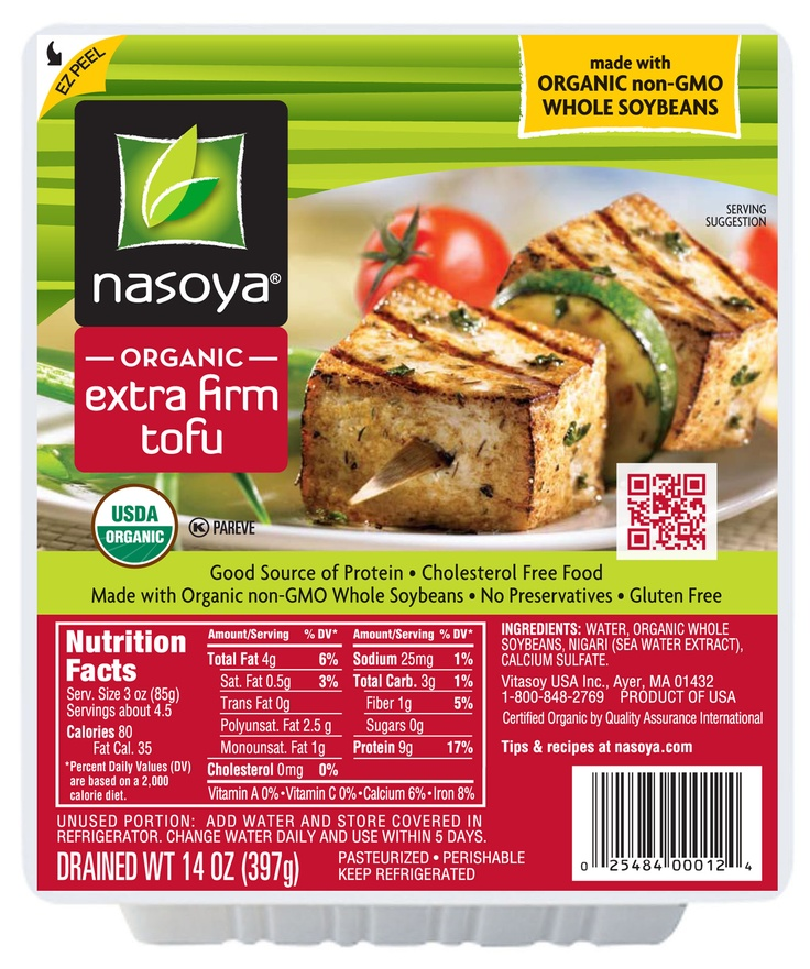 ... Extra Firm #Tofu - Try it in a stir fry, chili or tofu scramble
