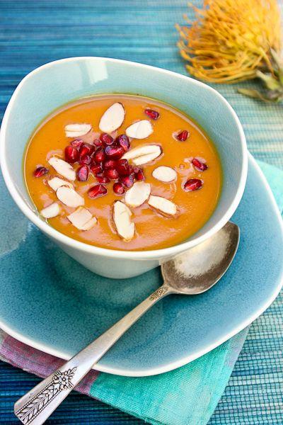 Chai Spiced Sweet Potato Bisque | #vegan #glutenfree #dairyfree