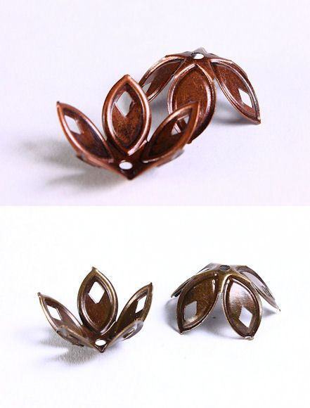 Beads and Jewelry supplies - The Beads of Dreams - 18mm flower bead ...