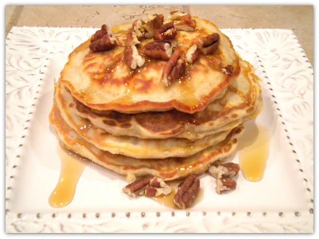 Banana Nut Pancakes | Food DIY | Pinterest