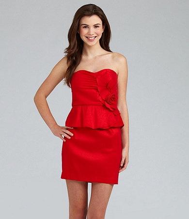 Available at dillards com dillards red dress pinterest