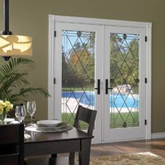 Swinging French Patio Doors For The Home Pinterest