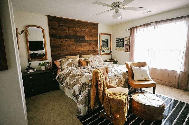 rustic master bedroom diy beautiful budget rustic master bedroom
