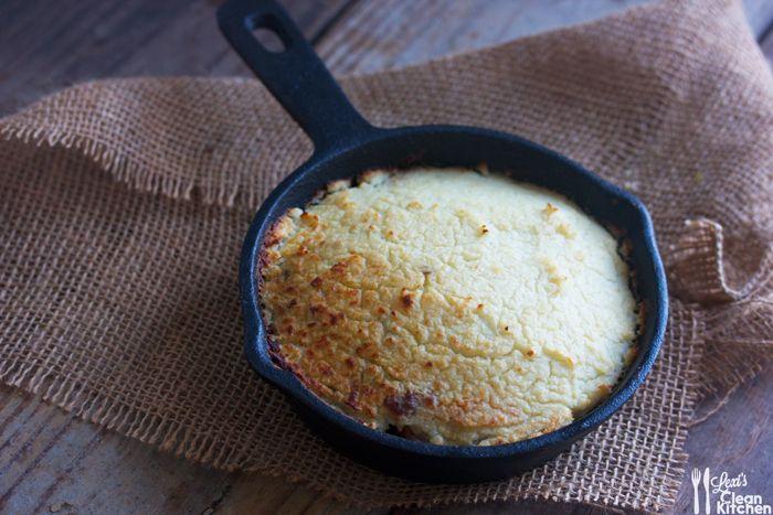 Healthy Shepherd's Pie: Two Ways w/ cauliflower or sweet potato mash ...