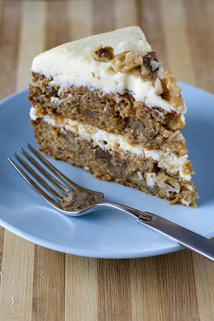 Carrot Cake with Mascarpone Frosting | Favorite Recipes | Pinterest