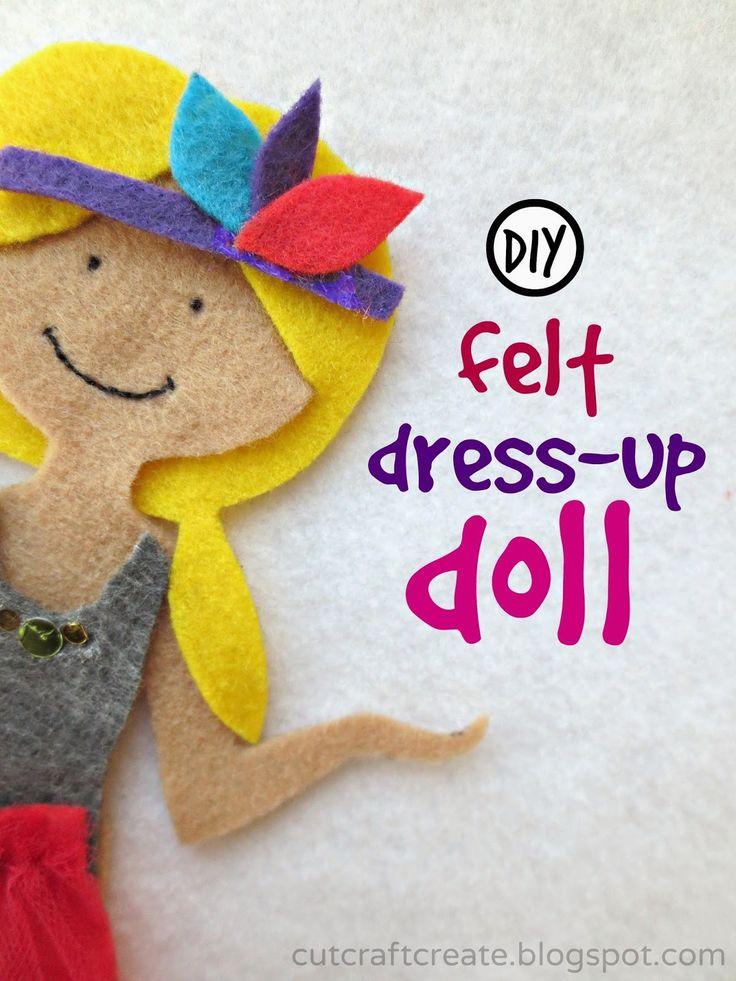 Pin by monica benger on felt boards pinterest for Felt dress up doll template
