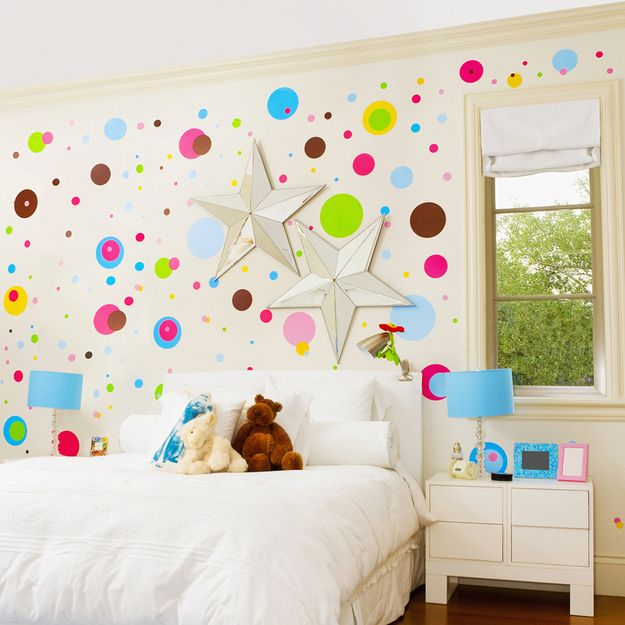 14 creative ways to paint your kid 39 s room - Unique ways to paint a wall ...