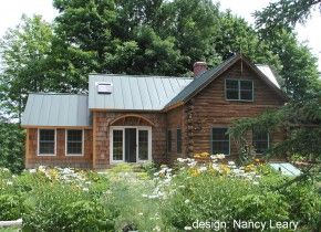 A smaller but still nice addition for the cabin pinterest for Log cabin additions ideas