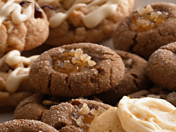 Super simple double ginger cookies with orange marmalade (couldn't ...