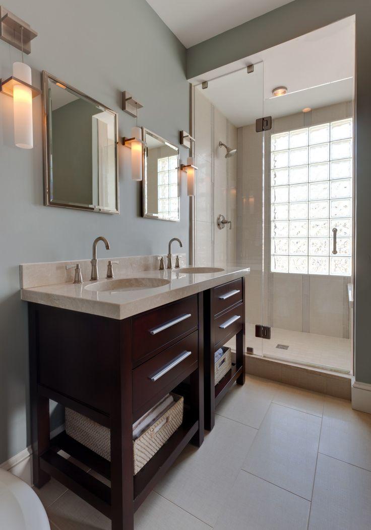 Modern Master Bathroom By Samantha Friedman On