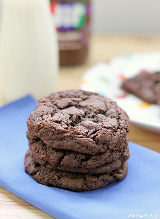 Chocolate Hazelnut Cookies - Eat. Drink. Love. - I made these tonight ...
