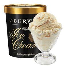 BUTTER BRICKLE: Our creamy Super Premium Vanilla Ice Cream with butter ...