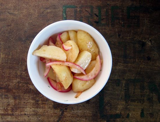 Salt & vinegar potato salad. My mouth started watering instantly when ...