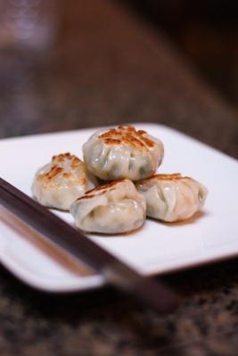 Shrimp & Chive Dumplings | food | Pinterest