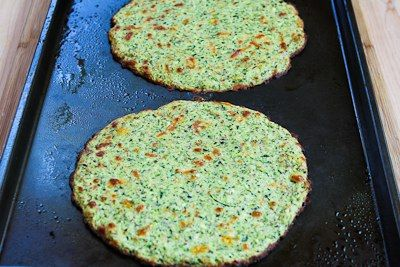 ... for Zucchini Crust Vegetarian Pizza (on the grill or in the oven
