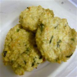 Mini Baked Quinoa Patties Allrecipes.com Great finger food; freeze ...