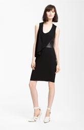 Alexander Wang Leather Detail Dress