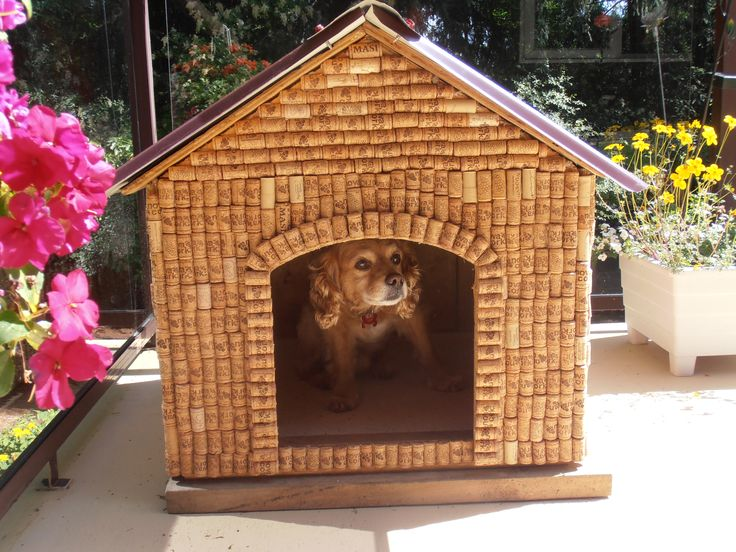 McDog's new cork house