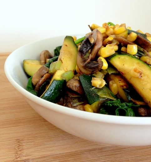 quinoa salad chipotle barley salad with corn zucchini and radishes ...