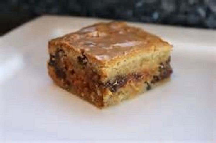 MAPLE BACON CHOCOLATE CHIP BLONDIES 1/2 cup melted butter~1 egg~1 tsp ...