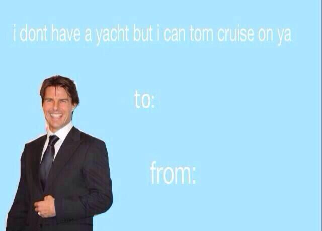 tom cruise valentine's day