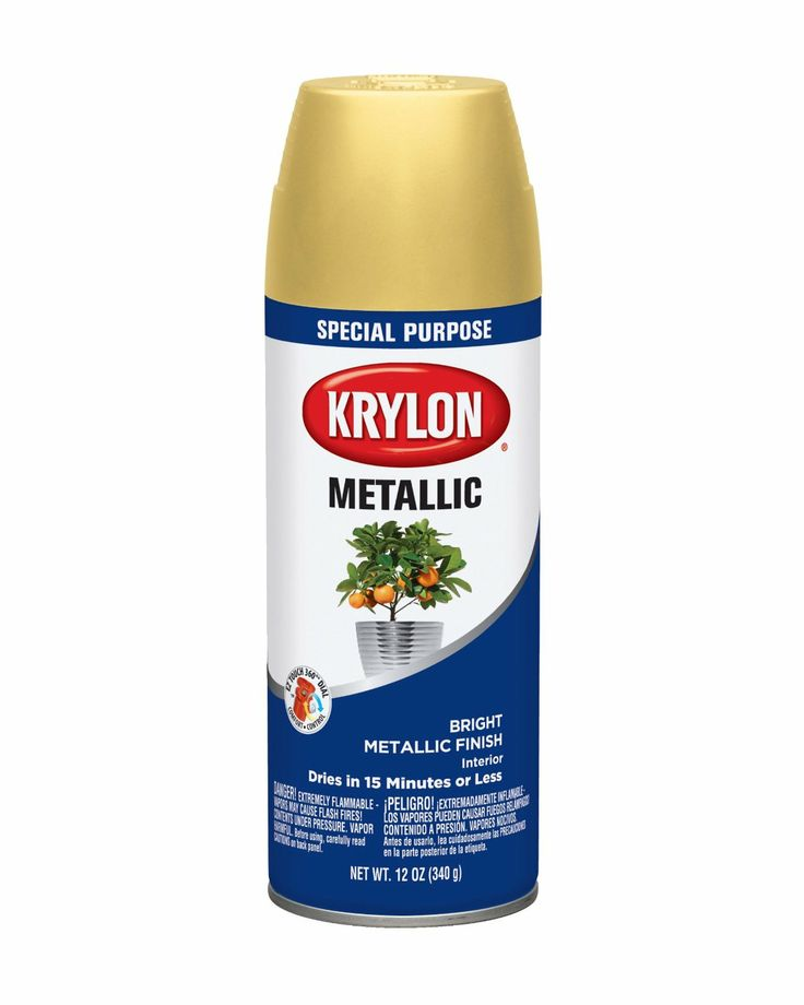 The Gallery For Krylon Metallic Gold Paint