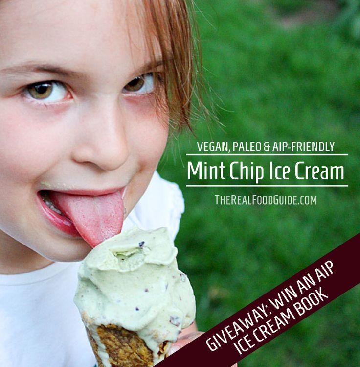 Vegan, Paleo & AIP-friendly Mint Chip Ice Cream | Recipe