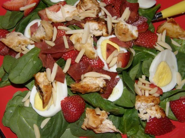 Incredible Chicken Strawberry Spinach Salad | Recipe