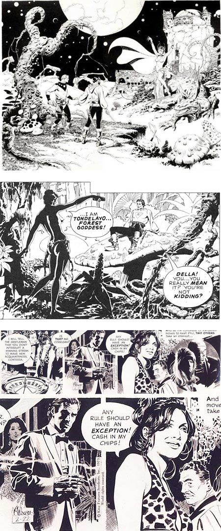 They just don't make artists they way they used to. Thanks for all the four-colour (and black & white) memories, Al Williamson. You are still missed.