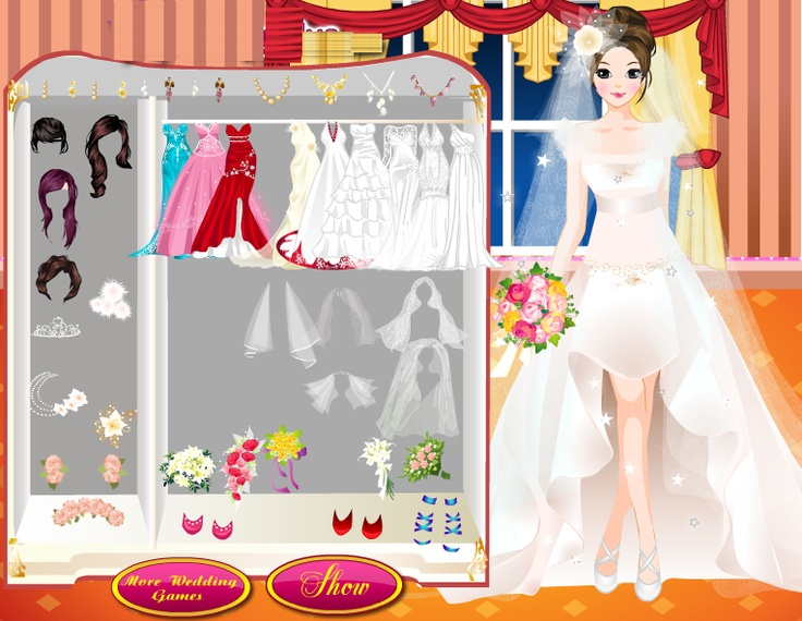 Pin by dress up games on wedding dress up games pinterest for Dress up games wedding