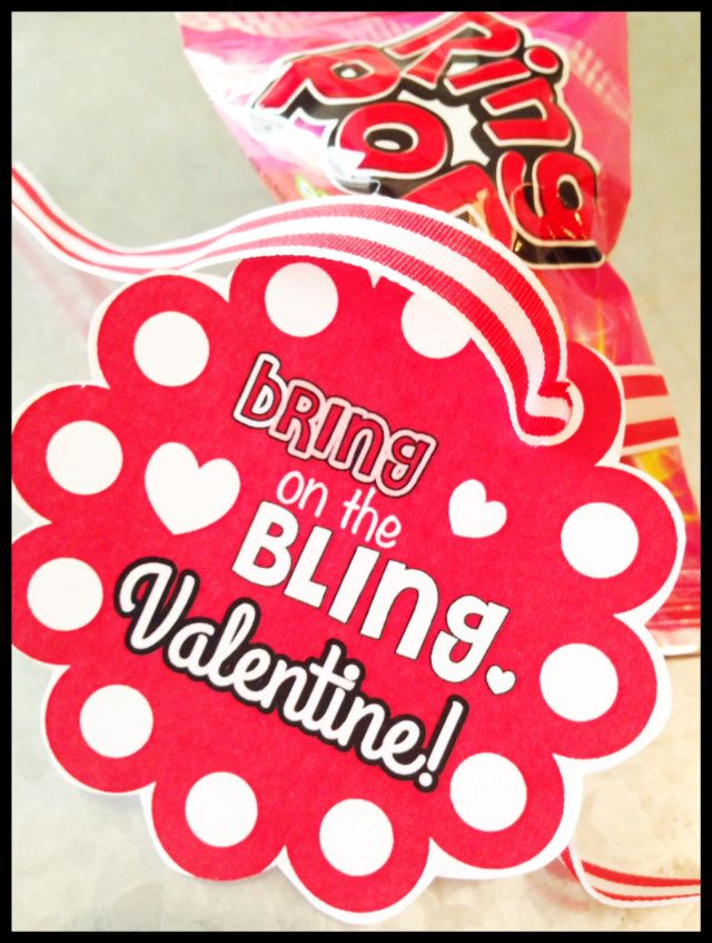 valentine's day ring pops