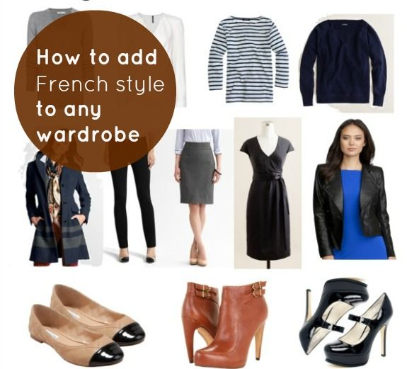 How To Add French Style To Any Wardrobe My Style Pinterest