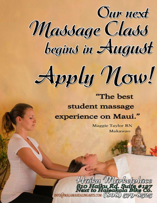 Massage Therapy school subjects art