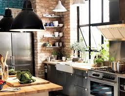 Cuisine style industriel c t maison pinterest for Comcuisine industrielle deco