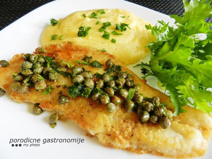 sole piccata with creamy polenta www.porodicnegastronomije.com