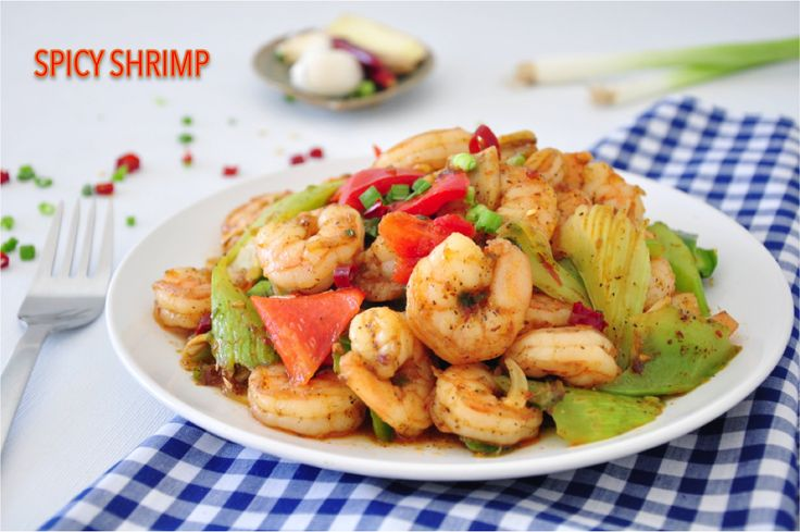 "Spicy Shrimp | Healthy & ""lite"" recipes 