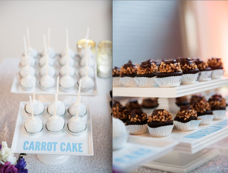 Desserts by Sweet and Saucy | Elysse + Jeff | Coordination and Design by In the Now Weddings + Events