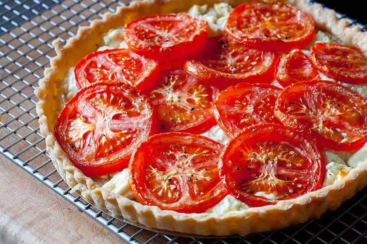 Tomato and Goat Cheese Tart   Recipe