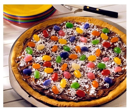 Easter cookie pizza | He is risen! / Easter | Pinterest