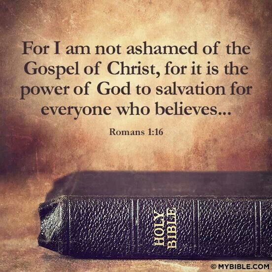 Image result for Romans 1:16