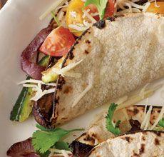Portobello and Zucchini Tacos | CLEAN FOOD | Pinterest