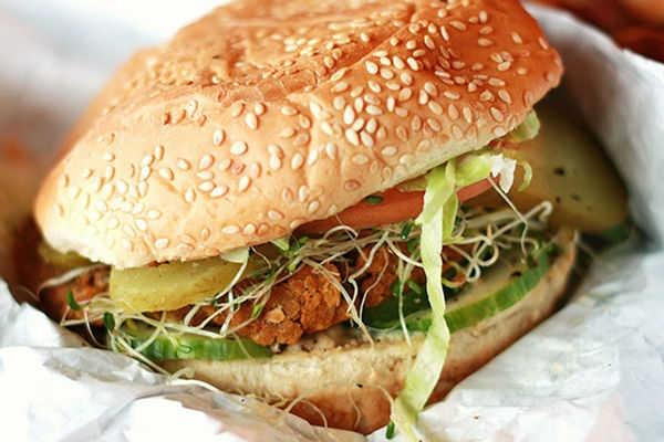 Vegan Veggie Burger   Clean eating   Pinterest