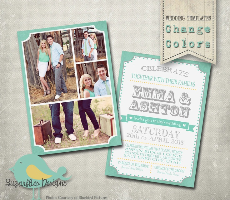 Wedding Announcement Templates and Save the Date - Wedding Announceme ...